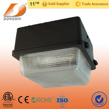 Aluminum housing and glass cover 150W gas station canopy light