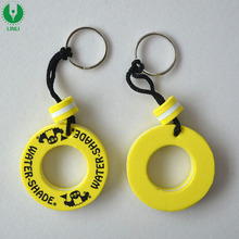 Promotional Gift EVA Mini Floating Keyring with Logo Printed