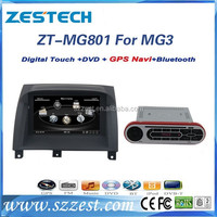 ZESTECH China Factory OEM 2 Din in dash ROEWE MG3 special car dvd player