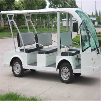 open top sightseeing bus(Electric 48V cart,8 seater sightseeing car)