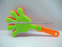 Kids toy plastic hand clapper