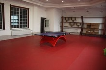Sports Vinyl / Plastic Flooring Surface Used for Table tennis Courts
