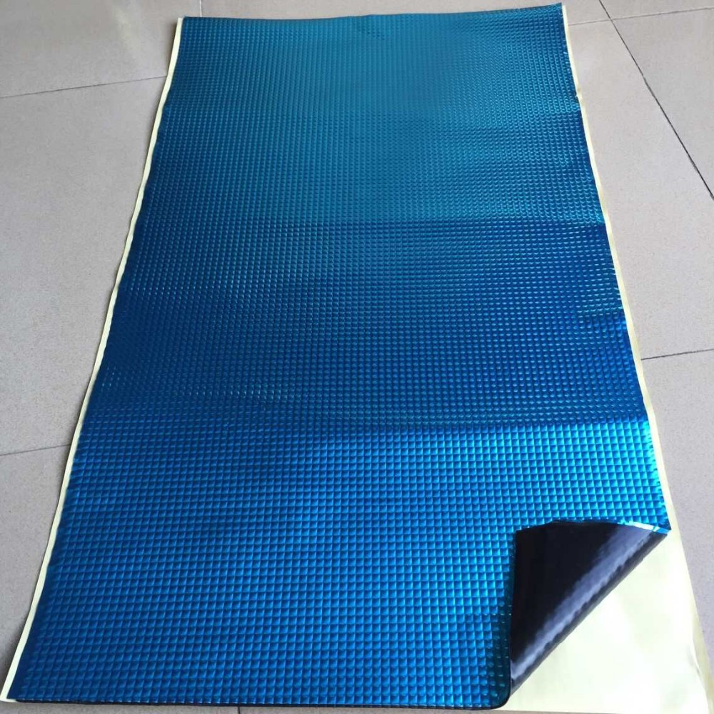New style 2mm butyl rubber sound damping material