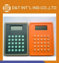 Colorful 12 Digits Promotional plastic gift Calculator