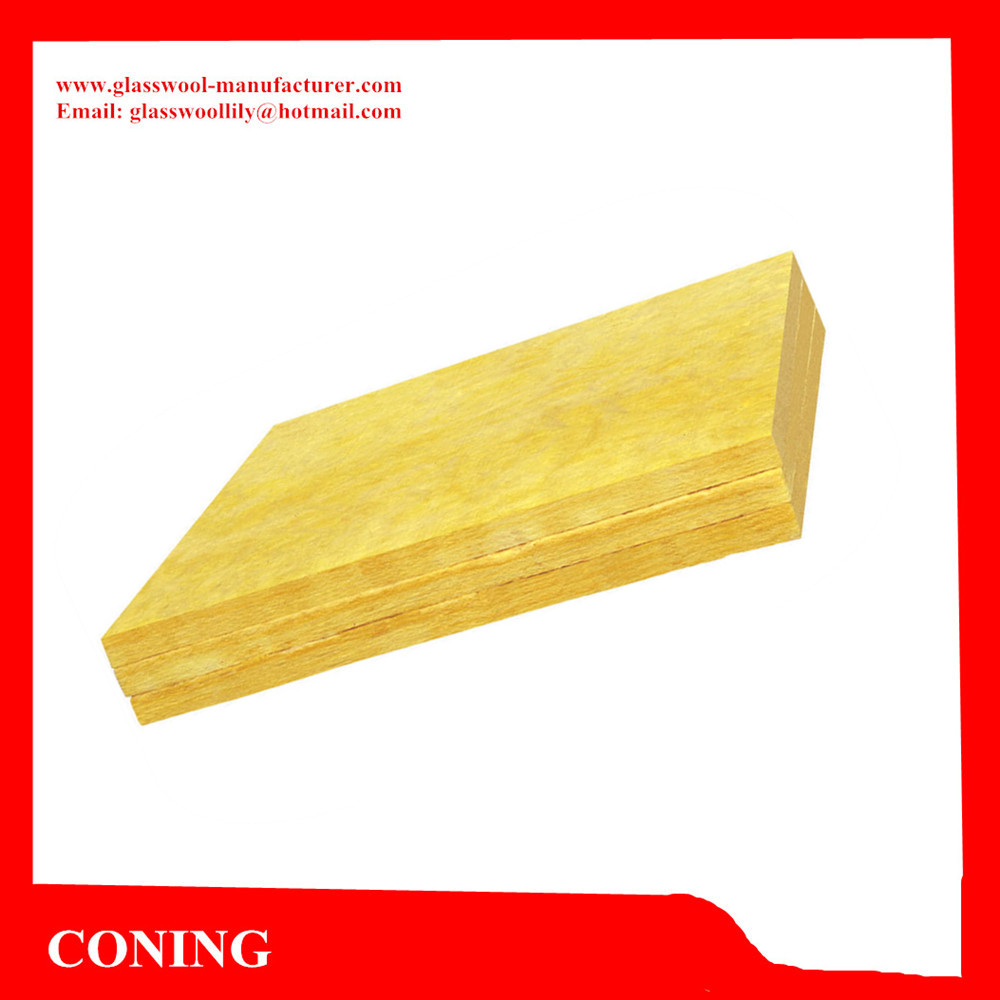R11 Insulation Resin Bonded Fiber Glass Wool Applied to Roof Insulation
