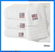 Zero-twist US Polo Association Cotton Bath Towels
