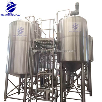 turnkey project commercial beer brewery equipment,2000L large beer factory equipment,beer brewery plant