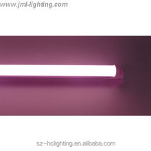Pink color T8 LED Tube 120cm SMD2835 for Food Display CE RoHS UL