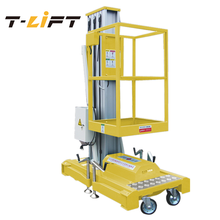 T-Lift model GTWY8-100 hydraulic scissor lift aluminum working platform