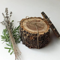 New Product Natural wood slices recyclable round shape wood pieces craft