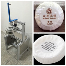 Hot selling manual soap pleat wrapping machine soap pleating packaging machine with low price