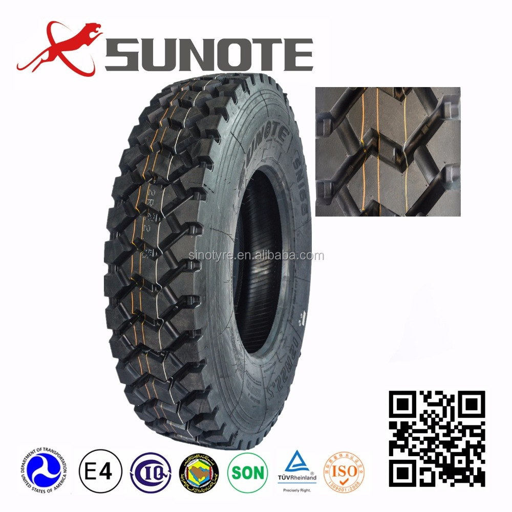 Chinese good quality dump truck tires supplier used on off road 295/80R22.5 315/80R22.5