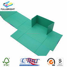 Graphic personalize folding box/flat foldable gift box for gift packaging
