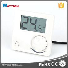 CE Certificate White Color Easy Operation Control Room Thermostat