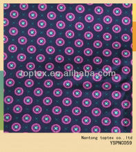 purple circle dot printed cotton fabric