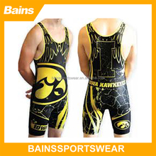 2015 Spandex wrestling tights/wrestling equipment/wrestling gear