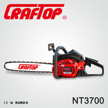 China factory CE EUROII Certificate 37cc Hus137 gasoline chainsaw machine 37cc for tree cutting