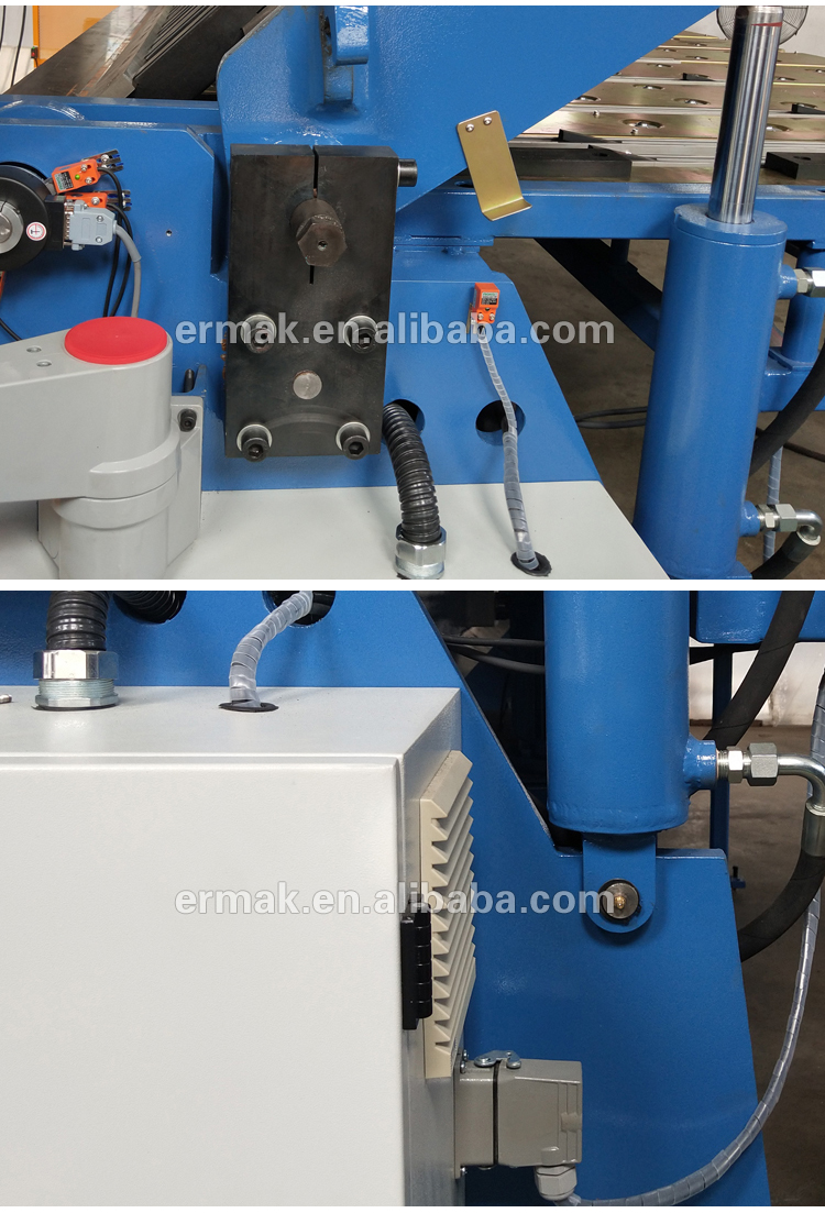 W62K Series Hydraulic Folding Machine Sheet Metal CNC Pan Brake Folder Machine