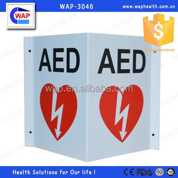 Trade Assurance WAP-health factory direct sale any logo branded size customized hard emergency sign