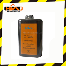 Producing Super Quality Lead Acid Heavy Duty Battery for Barricade Light