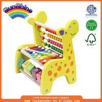 2015 EN71/ASTM The fawn on piano Wooden Hand Knock Celesta Music Instrument Toy