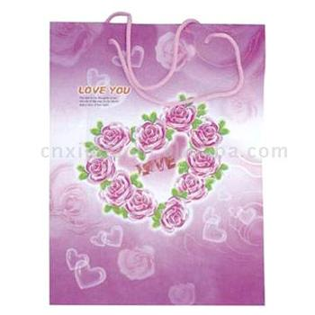 Art paper Gift Bag for wedding