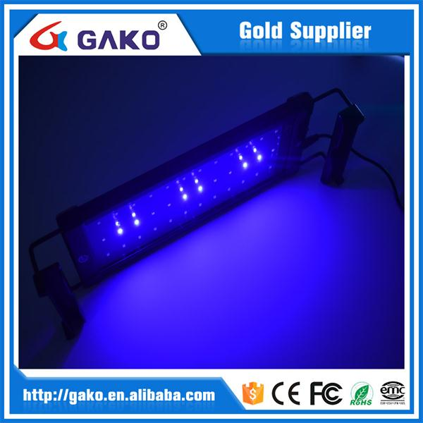 32W 116CM LED Aluminium White blue adjustable bracket aquarium clip light ZJL-120A