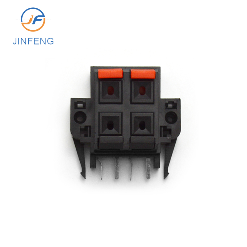 Quality hi fi speaker wiring box 4 audio terminal speaker terminal block audio parts,speaker accessories Automotive Connector Te