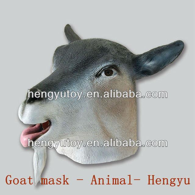 durable Halloween Costume & 3D Masquerade Fancy Dress cute goat mask