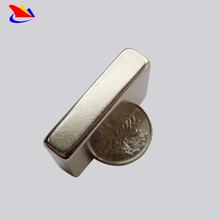 Block Shape Sintered Neodymium Magnets , rare earth permanent magnets for motor