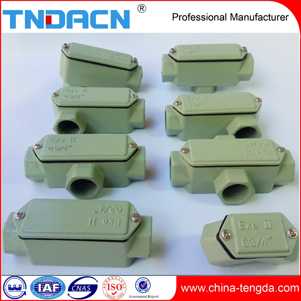 Explosion Proof Electrical Cable Protection Conduits Box
