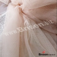 good quality 50D 100% polyester mesh fabric dress fabric wedding fabric