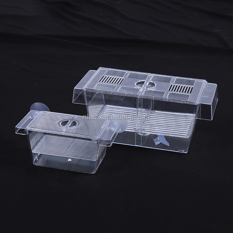 Aquarium live Fish Breeding Hatching Boxes Multifunctional Fish Isolation Box
