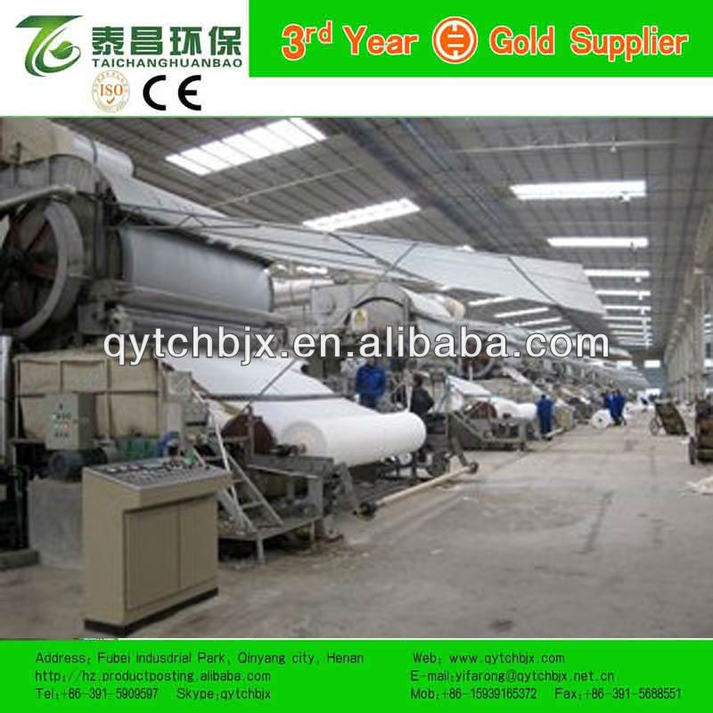 Popular HOT SALE 787mm 0.8-1TPD Single-dryer can and Single-clinder mould Tissue Paper Making Machine