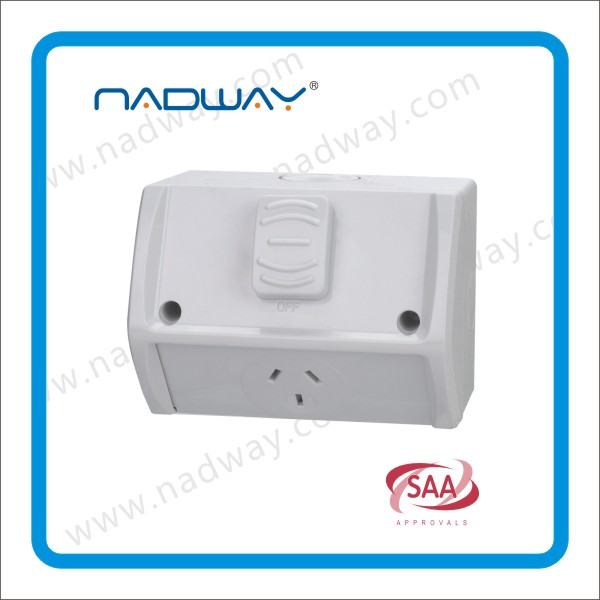 electrical weatherproof 10Amp ip53 Switches