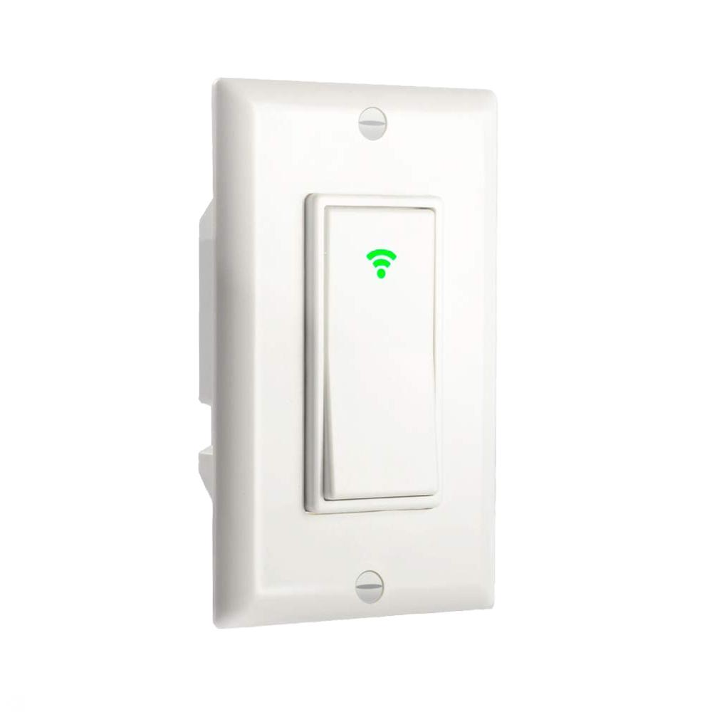 Smart <strong>Light</strong> Switch Wi-Fi Wall Touch Remote <strong>Control</strong>, Requires Neutral Wire, Compatible with Alexa and Google Assistant