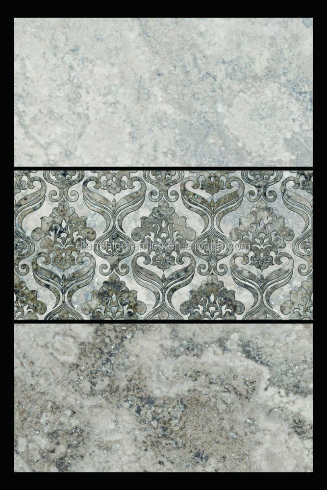 3d digital priting wall tile glazed ceramic wall tile with size 300x600