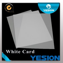 NEW ARRIVALS ! High quality Double side Non-laminated inkjet pvc card id cards new models