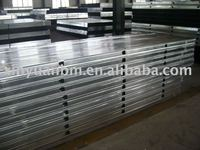metal steel profile/zinc galvanized steel profile