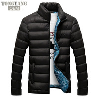 TONGYANG Winter Men Jacket 2018 Brand Casual Mens Jackets And Coats Thick Parka Men Outwear 4XL Jacket Male Clothing