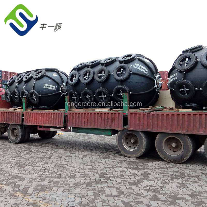 Tire fabrics type Floating pneumatic rubber fender