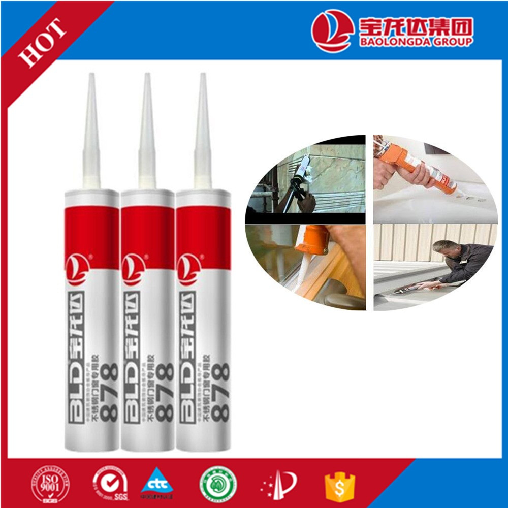 Exterior Waterproof Silver Silicone Sealant for Window Seal BLD878
