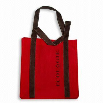Eco-friendly eco recyclable non woven bag for supermarket