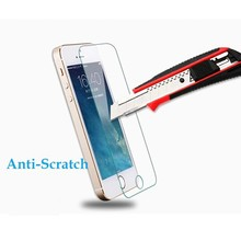 OEM/ODM package 9h hardness tempered glass screen protector for iPhone 5