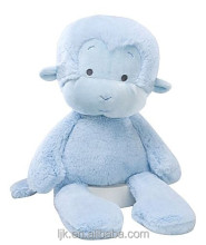 customized design plush blue monkey toy