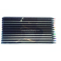 Professional water soluble pencils for drawing