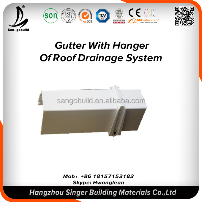 Quality 20years Durable Plastic PVC Lowes Gutter Guard Price