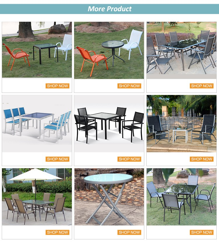 Steel Frame Fabric For Garden Furniture Chair