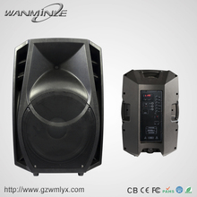 Portable 15 Inch Audio Stage Speaker Wireless microphone 2pcs Active Studio Home Theater Speaker