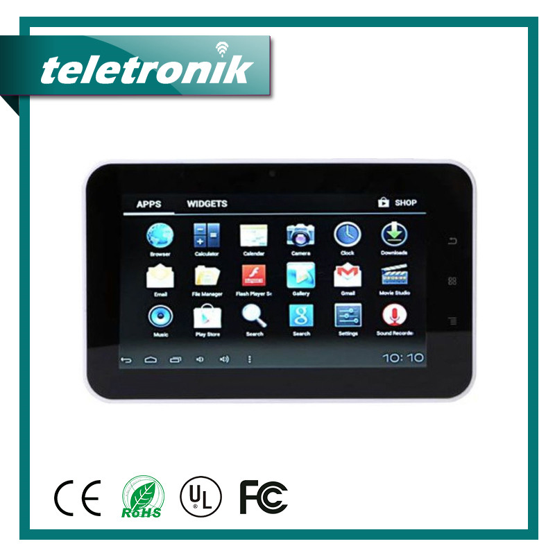 Tf Card Slot Capacitive Screen Dual-Core 1.7Gh Smart Tablet Computer